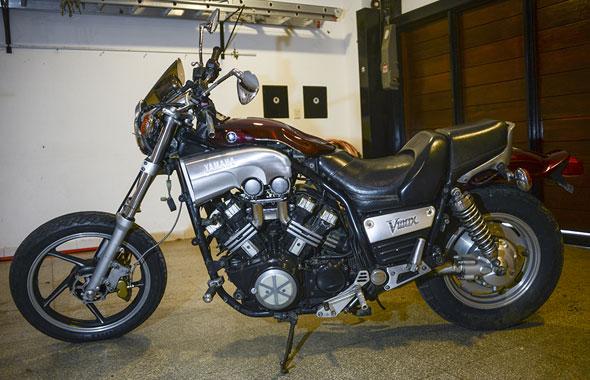 Moto Yamaha V-Max 1200