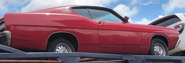 Auto Ford Torino GT