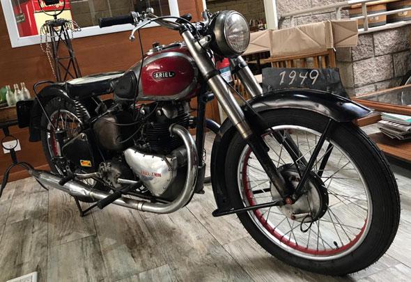Ariel 500 Motorcycle