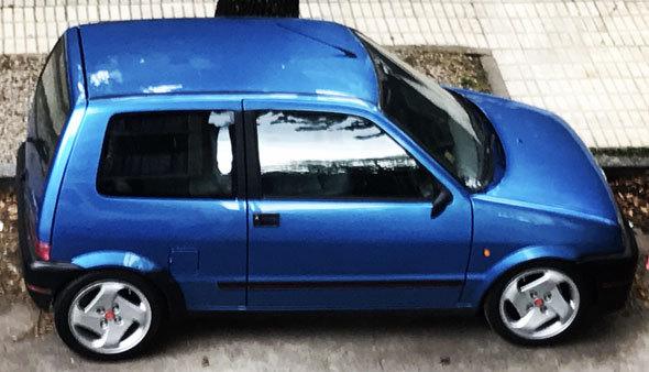 Auto Fiat Cinquecento Suite