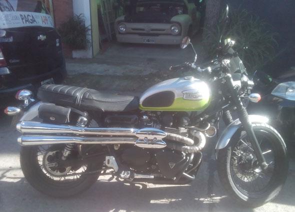 Moto Triumph Scrambler