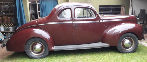 Auto Ford Coupé 1940