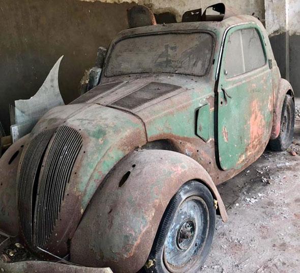 Auto Fiat Topolino