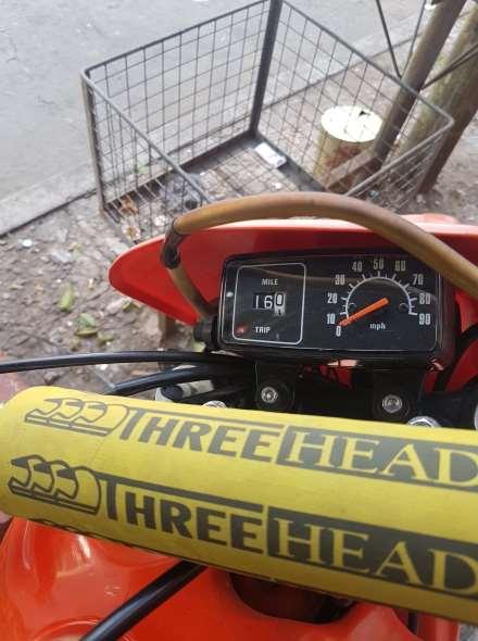 Moto Honda XR500R
