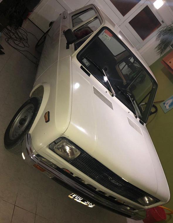 Auto Fiat 128 Europa 1979
