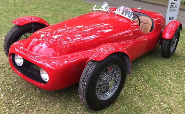 Auto Alfa Romeo Nardi Danese - Recreación