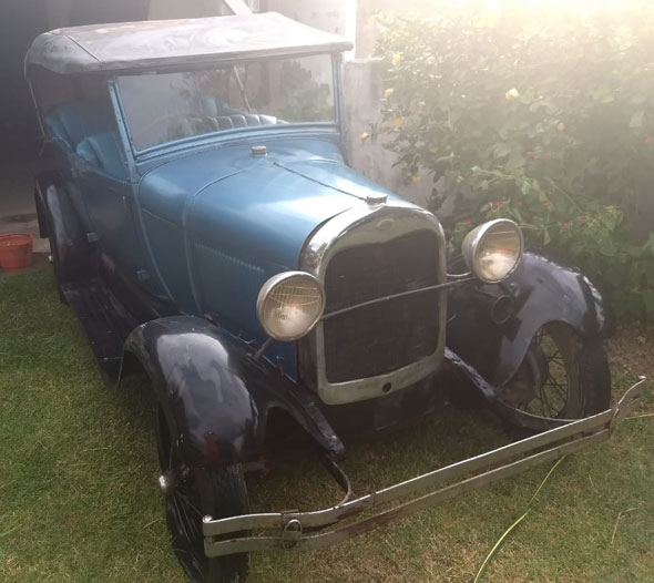 Auto Ford A 1927