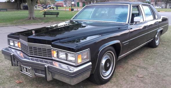 Car Cadillac Fleetwood 1977