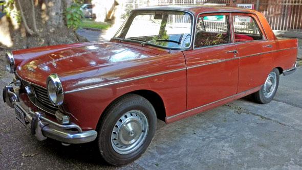 Auto Peugeot 404