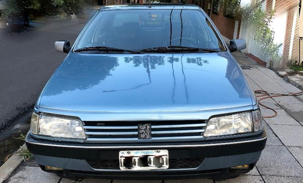 Auto Peugeot 405 SRI