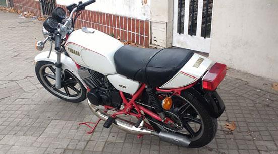 Yamaha Daytona Motorcycle
