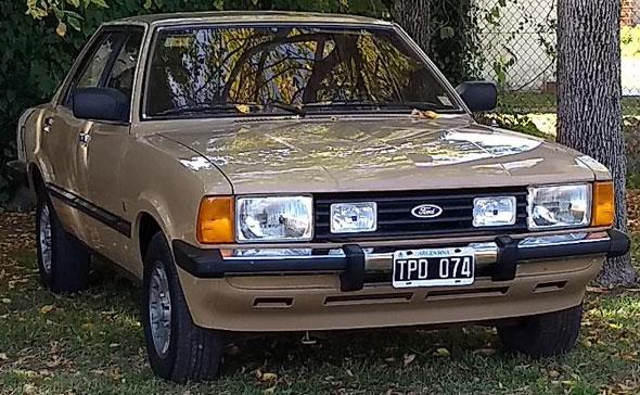 Auto Ford Taunus Ghia