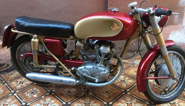 Moto Ducati 125