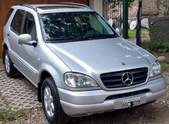 Auto Mercedes Benz ML 430