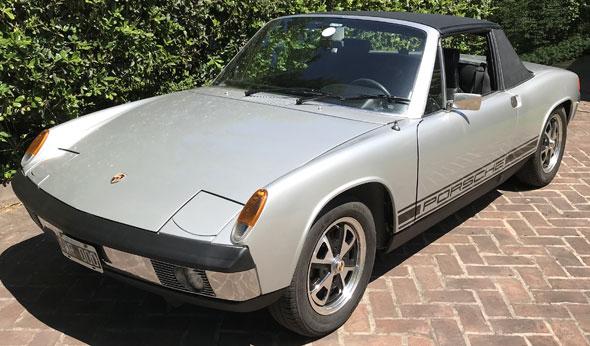 Auto Porsche 914
