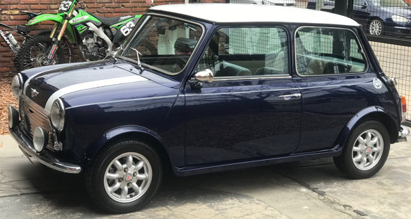 Auto Mini Cooper Mini 1000