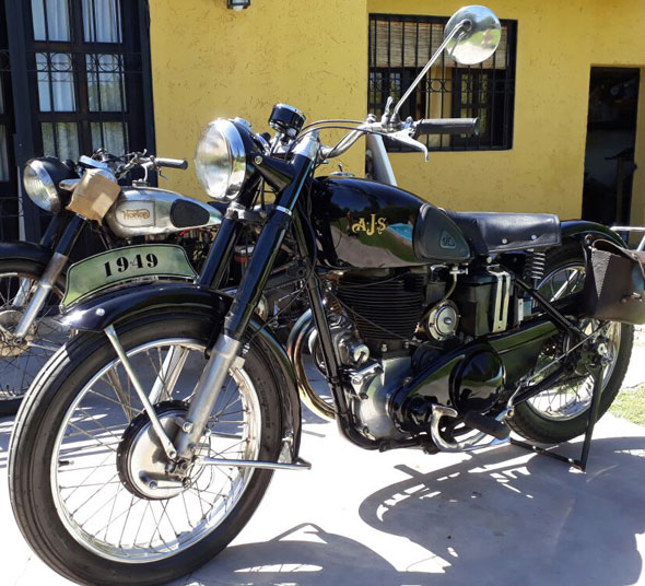 AJS 1949 Motorcycle