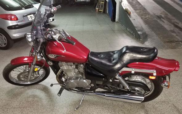 Moto Kawasaki Vulcan 500 S