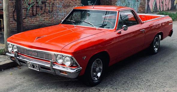 Auto Chevrolet El Camino 1966