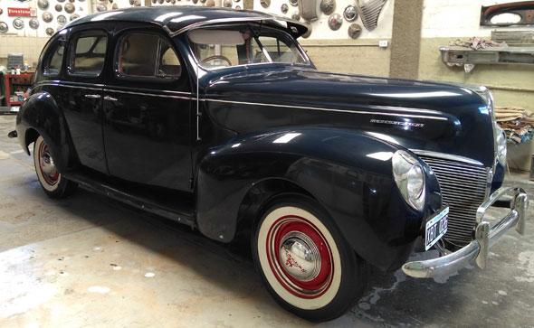 Auto Mercury 1940 Sedán