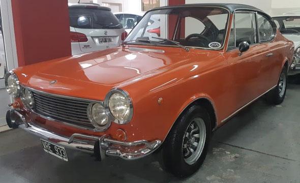 Auto Fiat 1600 Coupé Sport
