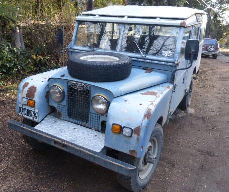 Auto Land Rover Serie I 1957
