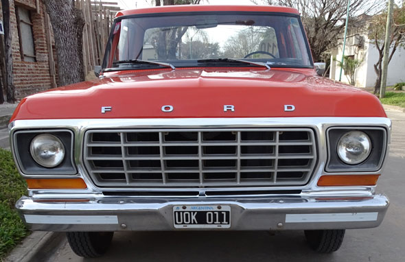 Car Ford F100 1979 De Luxe