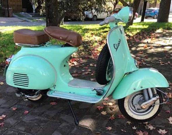 Moto Vespa 1961