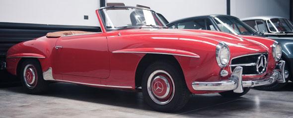 Auto Mercedes Benz 190 SL 1957