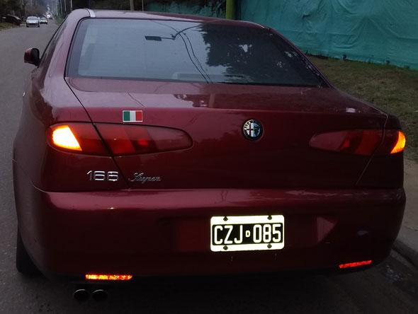 Auto Alfa Romeo 166
