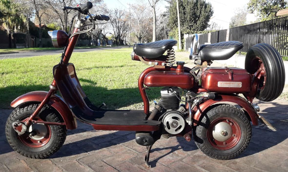 Moto Siambretta 1957