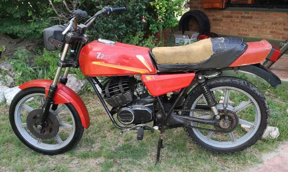 Moto Zanella JR 200