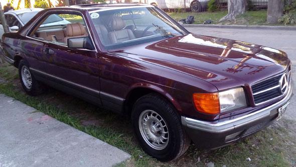 Mercedes Benz 500 SEC 1985