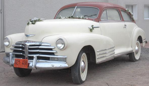 Auto Chevrolet Fleetline