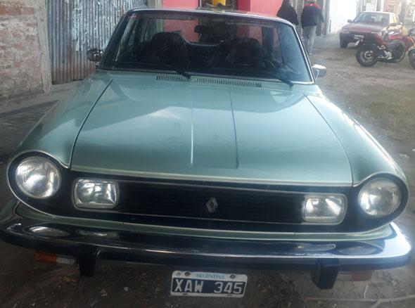 Auto Renault Torino ZX 1980