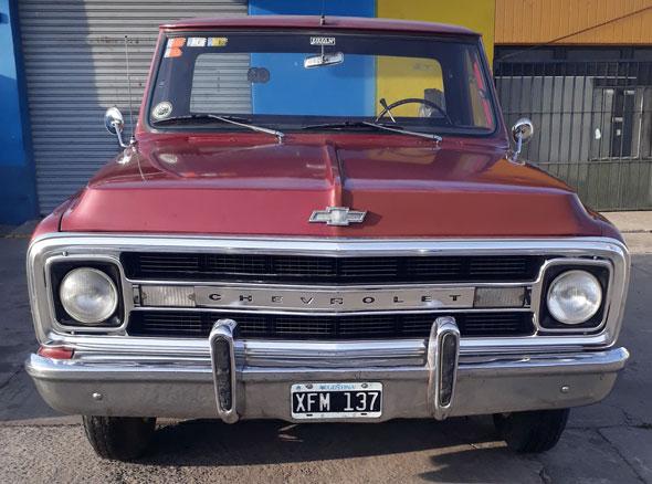 Auto Chevrolet C 10 1970 Positrax