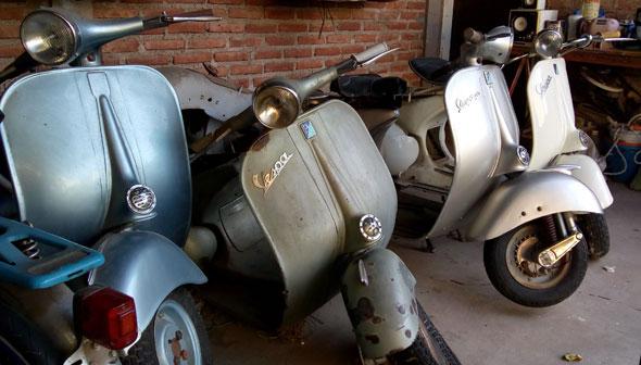 Moto Vespa VL3