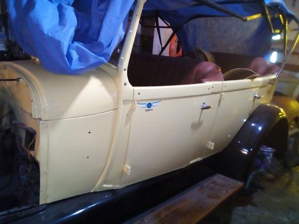 Ford Doble Phaeton 1929