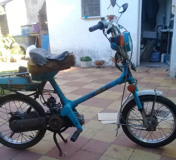 Moto Honda Expres
