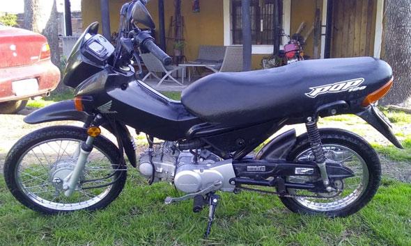 Honda Pop 100 Motorcycle