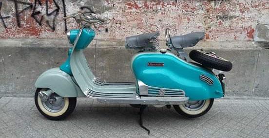 Moto Siambretta LD150