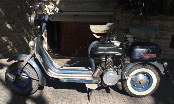 Moto Siambretta 125 Std