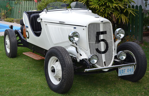 Ford Baquet Ford 1933