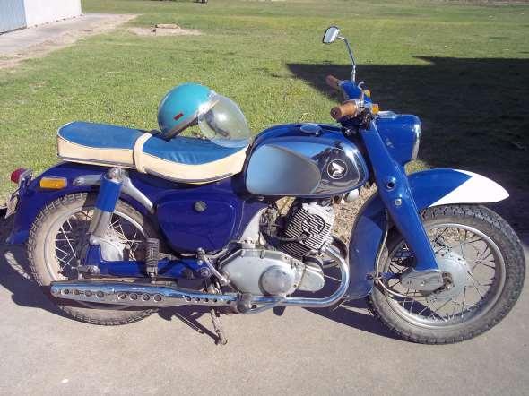 Moto Honda 1961