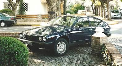 Auto Alfa Romeo GTV 1980