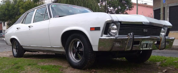 Auto Chevrolet Chevy Super Sport
