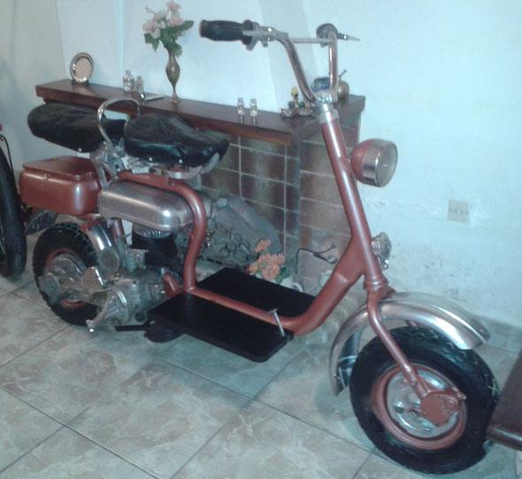 Moto Siambretta Std 125