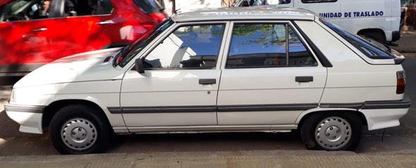 Auto Renault 11 TS 1992