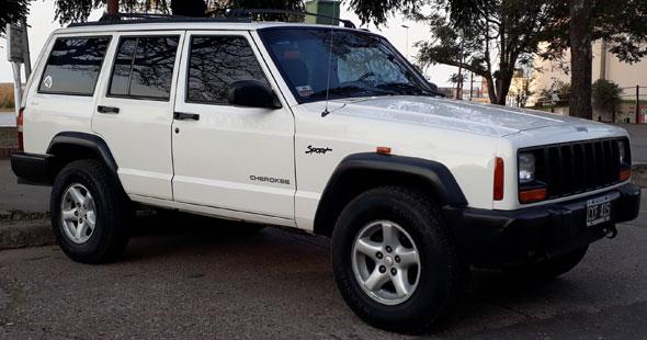 Car Jeep Cherokee Sport