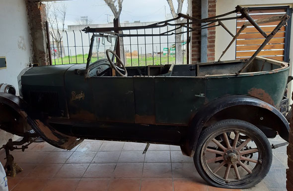 Car Rugby Star 1925